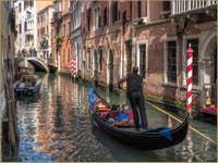 Gondole Rio de la Fava à Venise