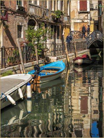 La Fondamenta de la Malvasia Vecchia et le Rio de San Maurizio, dans le Sestier de Saint-Marc à Venise.