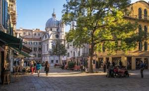 Campo Santa Maria Nova, dans le Cannaregio à Venise.