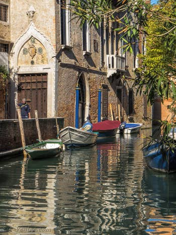 Le Palazzo Soranzo Van Axel, dans le Cannaregio à Venise.
