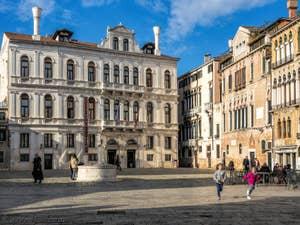 Palazzo Ruzzini Campo Santa Maria Formosa.