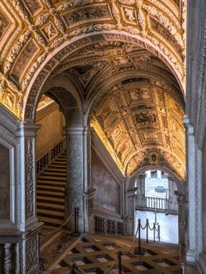 La Scala d'Oro du Palais des Doges à Venise.
