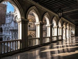La Galerie Supérieure du Palais des Doges du Palais des Doges à Venise.