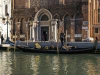 Gondole à San Giovanni e Paolo à Venise