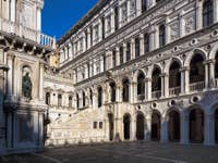 Escalier des Géants du Palais des Doges à Venise