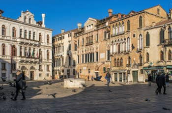 Campo Santa Maria Formosa, dans le Castello à Venise.