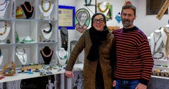 Marina et Marco Franzato, Verriers à Venise.