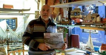 Gilberto Penzo, maquettes de bateaux traditionnels Vénitiens, à San Polo