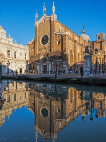 Le Miroir de San Giovanni e Paolo, dans le Castello à Venise.