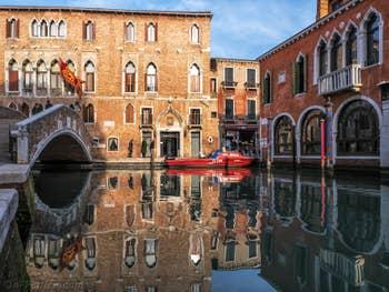 Le Palazzo Marcello, à Santa Croce à Venise.