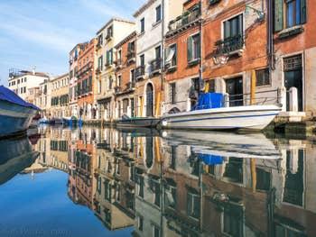 Le Miroir du Rio delle Eremite, Fondamenta Borgo, dans le Dorsoduro à Venise.