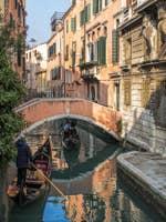 Gondoles Rio Widmann à Venise