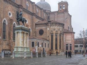 La Basilique San Giovanni e Paolo, dans le Castello à Venise.