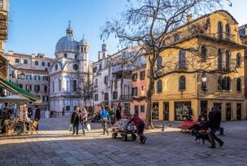 L'église dei Miracoli, dans le Cannaregio à Venise.