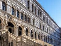 L'escalier des Géants du Palais des Doges à Venise