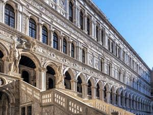 L'escalier des Géants du Palais des Doges à Venise.