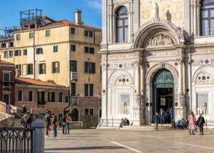 Scuola Grande San Marco, dans le Castello à Venise.