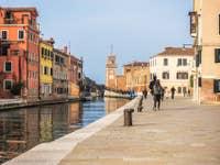 Le Rio et la Fondamenta de l'Arsenal de Venise