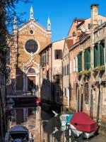 L'église de la Madona de l'Orto à Venise