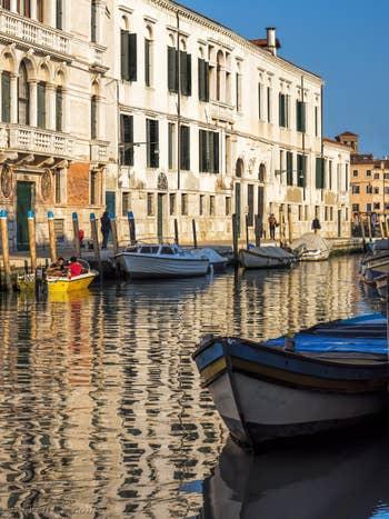Palais Minelli Spada et Contarini dal Zaffo, dans le Cannaregio à Venise.