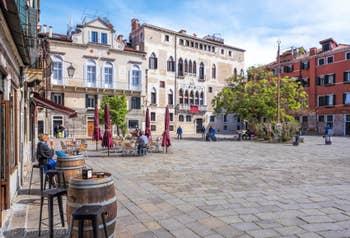 Campo Bandiera e Moro o de la Bragora, dans le Castello à Venise.