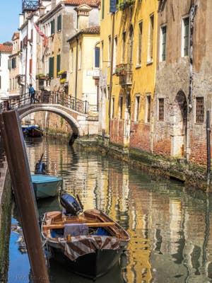 Le Pont de l'Ospealeto, dans le Castello à Venise.