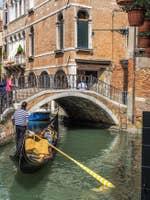 Gondole Rio de Ca'Widmann à Venise