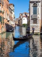 Gondole Rio de Santa Marina à Venise