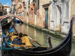 Gondole Rio de San Felice, dans le Cannaregio à Venise.
