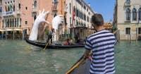 Le Traghetto du Marché du Rialto à Venise.