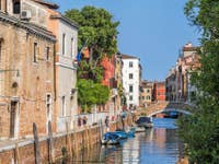Le Rio et la Fondamenta Santa Caterina à Venise.