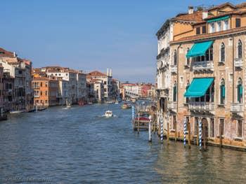 Grand Canal de Venise Palazzo Erizzo Nani Mocenigo.