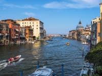 Le Grand Canal et la Salute à Venise