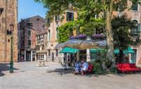 Le Campo San Giacomo da l'Orio à Venise