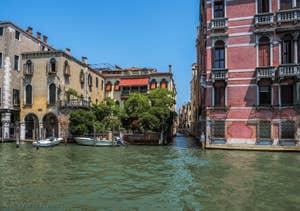 Le Palazzo Fontana sur le Grand Canal, dans le Cannaregio à Venise.