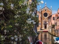 Rio Brazzo et la Madona de l'Orto à Venise