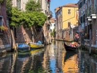 Gondole Rio San Giacomo dall'Orio à Venise