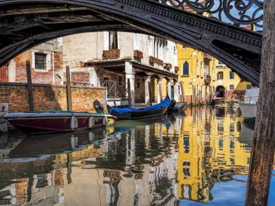 Le Rio Priuli o de Santa Sofia, dans le Cannaregio à Venise.