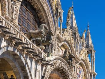 Chevaux de la Basilique Saint-Marc à Venise.