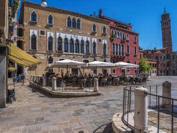 Le Campo Sant'Anzolo à Saint-Marc à Venise.