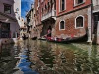 Gondoles Rio del Malibran à Venise