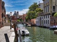 Le Rio et la Fondamenta dei Ognissanti à Venise