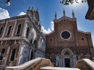 Scuola Grande San Marco et Santi Giovanni e Paolo, dans le Castello à Venise.