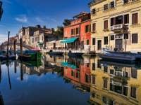 Le Miroir du Rio de la Sensa à Venise