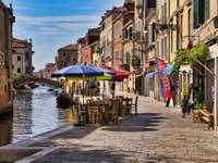 Le Rio et la Fondamenta de la Misericordi à Venise