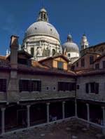 L'Abbazia San Gregorio et la Madonna de la Salute à Venise