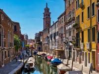 Rio de San Barnaba Fondamenta Gherardini à Venise