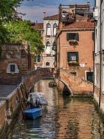 Le pont Moro et le Riello dei Servi à Venise