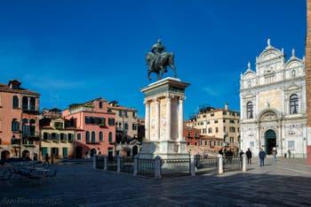 Le Campo San Giovanni e Paolo dans le Castello à Venise