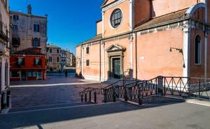 L'église et le Campo de San Felice, dans le Sestier du Cannaregio à Venise